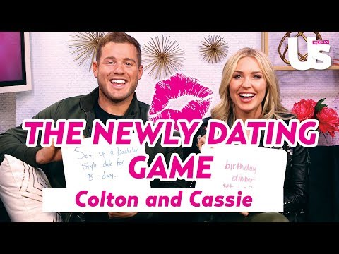 Colton Underwood and Cassie Randolph Newly Dating Game