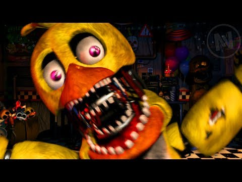 All Withered Chica Quotes / Voice Lines (Five Nights At Freddy's Ultimate Custom Night)