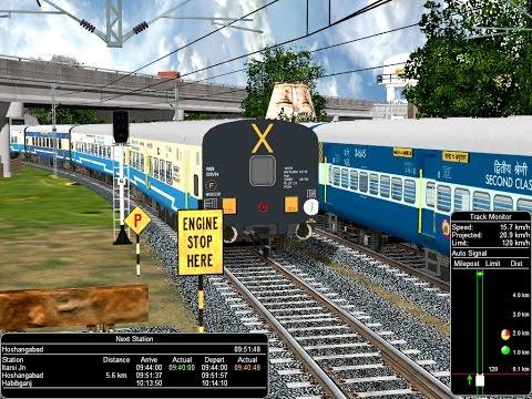 12062/Jabalpur - Bhopal Habibganj Janshatabdi Express From Itarsi || IR in Open Rail