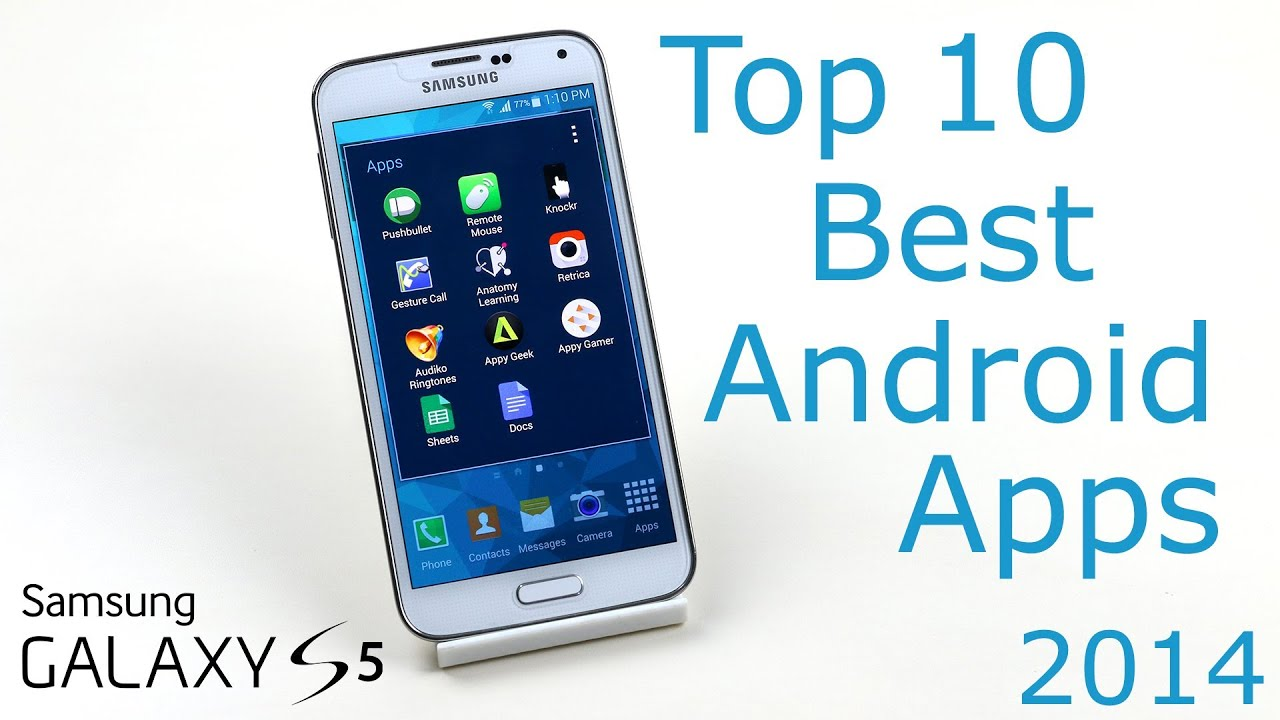 Top 10 Best Android Apps 2014 (Galaxy S5) - Part 8 - YouTube