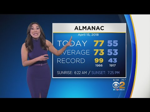 Amber Lee's Weather Forecast (April 15) - Video | Los