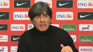 Highlights der PK nach dem Spiel gegen Niederlande