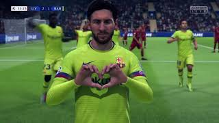 Highlights (6-1) UEFA Liverpool vs FC Barcelona 2018/2019