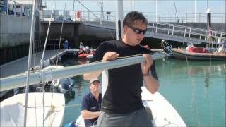 Etchells How to Guide Part 3, Gybing
