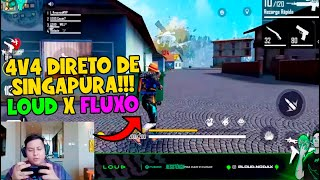APOSTADO DO MUNDIAL - NODA AMASSOU COM 30 KILLS - NOBRU DEU SHOW - LOUD VS FLUXO NO 4V4