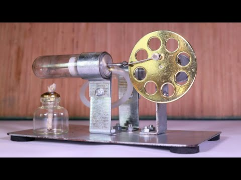 DIY Stirling Engine | Educational Toy Kit