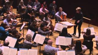 Baltimore Symphony Orchestra Rehearses Second Movement from Tchaikovsky