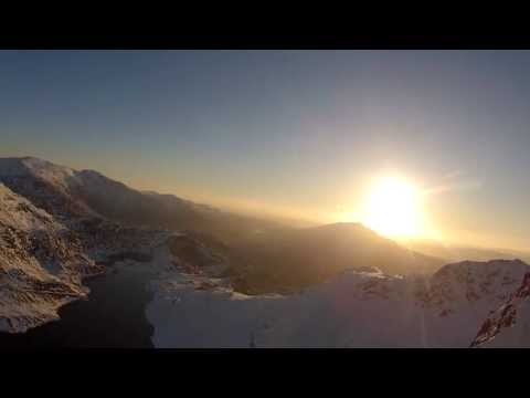 Sunrise on Snowdon April 2013