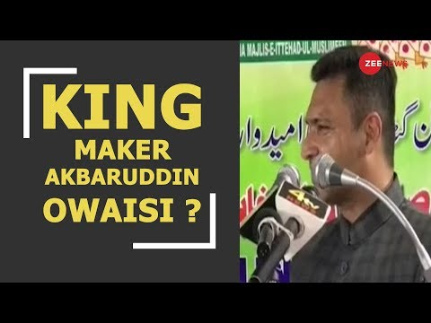 Breaking: AIMIM leader Akbaruddin Owaisi claims to be