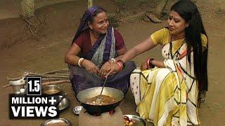 Traditional Food in Bangladesh | কাঁঠাল পাতার বড়া ও ছানার তরকারি