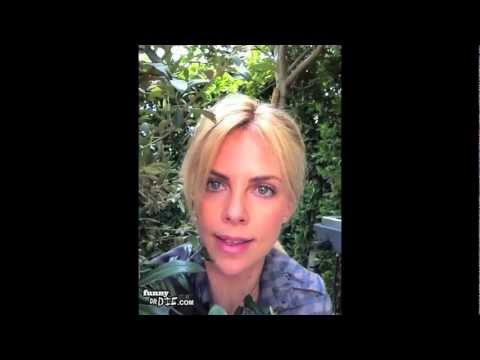 Charlize Theron Stalks Some Dude