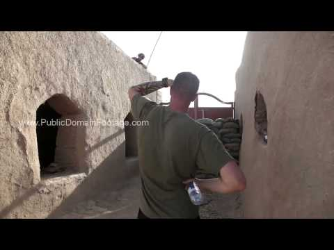 Operation Eastern Endeavor - Counter insurgency Sangin, Afghanistan archival footage