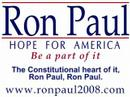 "Ron Paul, Ron Paul ~ ""Sinatra"""