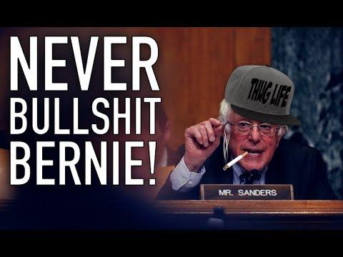 Bernie Sanders Goes H.A.M. on Trump