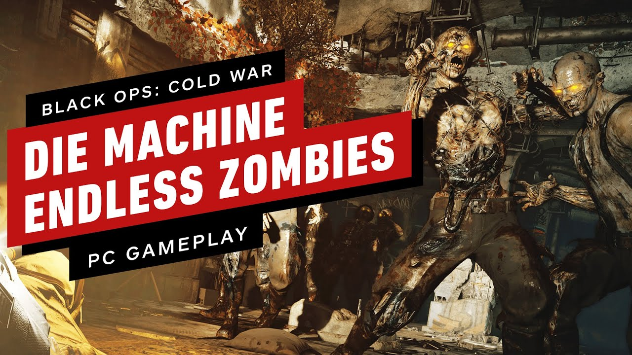 Black Ops: Cold War - 16 Minutes of Zombies Gameplay