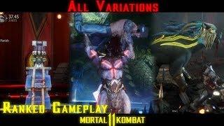 All Variations - Ranked - Kotal Kahn - Mortal Kombat 11
