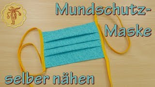 Mundschutz-Maske selber nähen - DIY