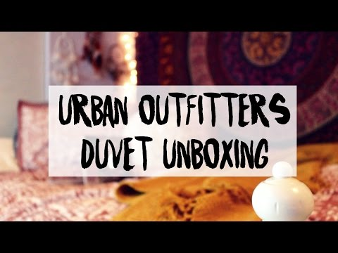 Urban Outfitters Duvet Cover Unboxing // Marley Gemini