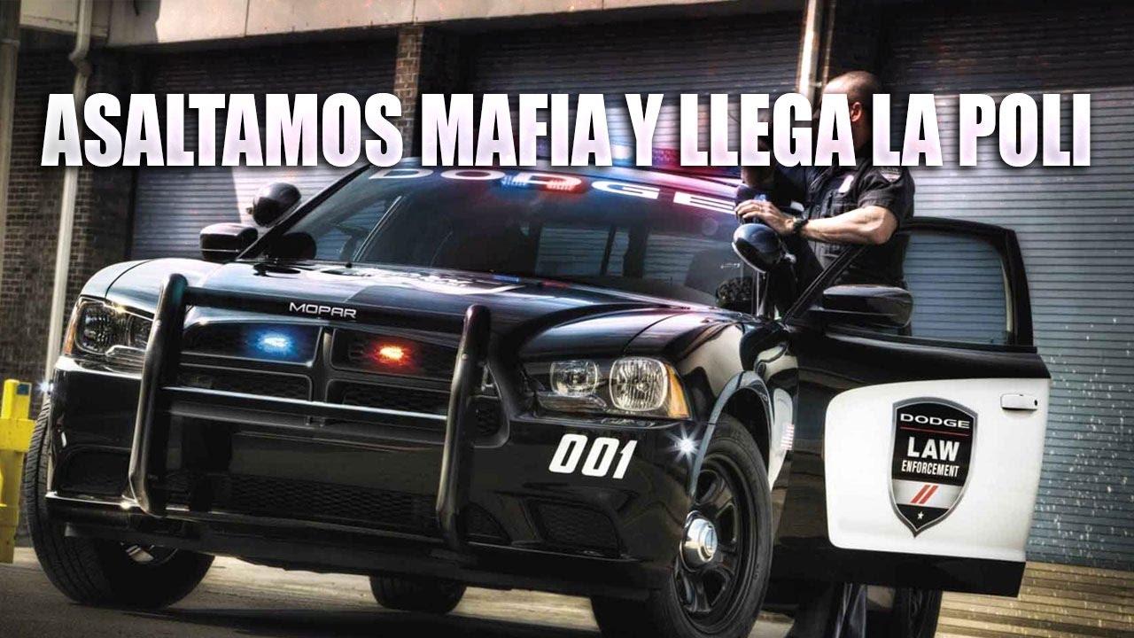 ASALTAMOS MAFIA Y LLEGA LA POLICIA - ARMA 3 - POP LIFE