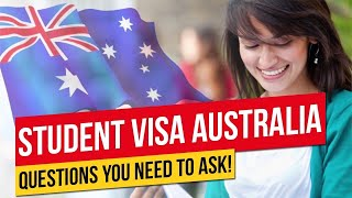 STUDENT VISA IN AUSTRALIA | Questions to Ask Before You Apply | Migrate to Australia