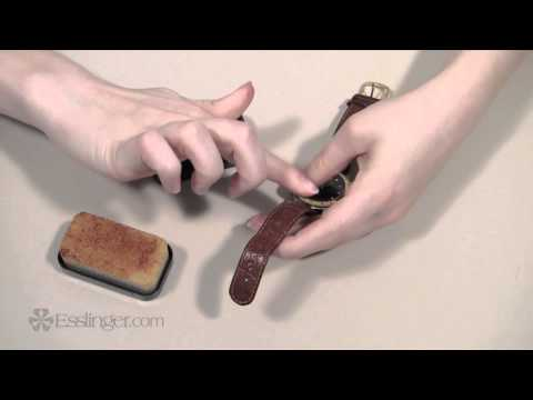 Leather Watch Band Cleaner