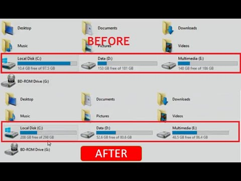 Cara Menambah Kapasitas Local Disk C Tanpa Instalasi Ulang dengan Aplikasi MiniTool Partition ...