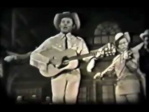 Rare Hank Williams Video 1952 - Cold Cold Heart