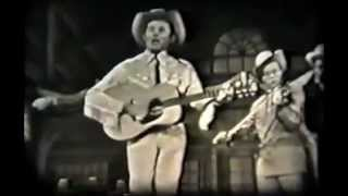 Rare Hank Williams Video 1952 - Cold Cold Heart