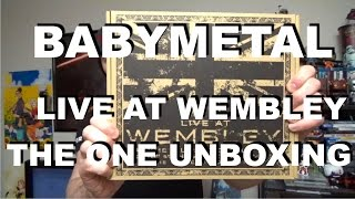 Babymetal Live At Wembley Arena The One Edition Unboxing