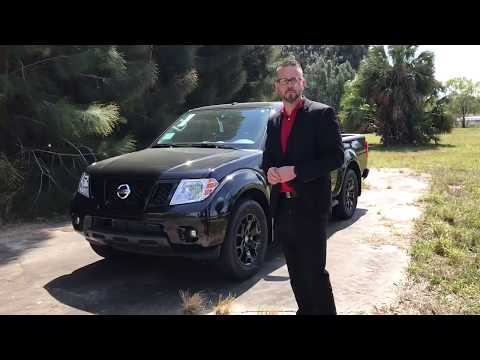 2018 Nissan Frontier Midnight Edition | Courtesy Nissan Of Tampa