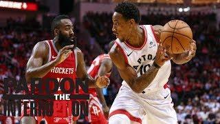 More at stake: Rockets or Raptors? | Pardon the Interruption | ESPN