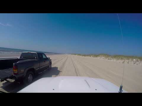 Fort Fisher Beach Driving Summer 2018