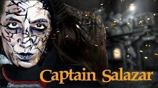 Captain Salazar Makeup Tutorial
