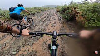 Yağmurda Bisiklet Turu ⛰🌲🚴🏻 yağmur ☔️ bizi esir aldı