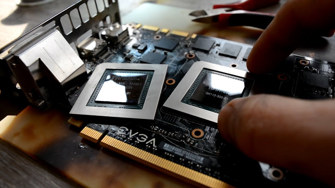 Improving performance of video card on 10-15% 💪/ Making from 780 to 780  ti/ repair and upgrade