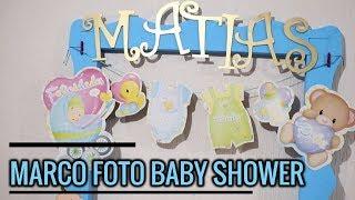 Cuadros para baby shower de niña