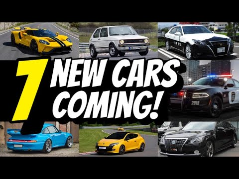 7 NEW CARS Coming in GT SPORT 1.53!!