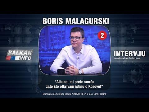 INTERVJU: Boris Malagurski - Albanci mi prete smrću zato što otkrivam istinu o Kosovu! (09.05.2018)