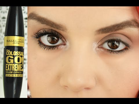 0e64b2bc789 Review: Maybelline Volume Express the Colossal go Extreme Leather black  Mascara