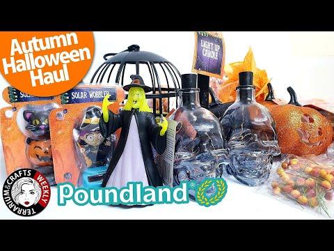 POUNDLAND HALLOWEEN HAUL, Poundland Halloween 2019, Poundland Halloween Decorations | Craft Haul