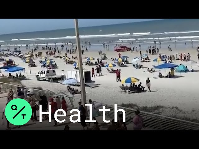 Americans Escape to Beaches for Memorial Day as Covid-19 Lockdowns Ease