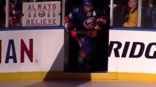 Islanders Intro at Final Coliseum Game