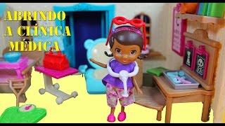 Doutora Brinquedos Abre a Clínica Médica Lil Woodzeez , Português do Brasil