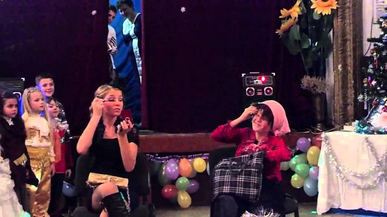 Смешные выступления на новый год сценарий выступление от класса