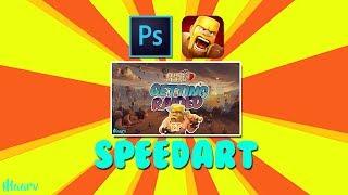 Clash Of Clans - Thumbnail Speed Art