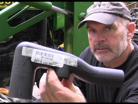 hqdefault low pressure hydraulic return line jd4300 recovered part 3 youtube