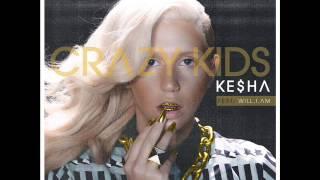 Gambar cover Ke$ha - Crazy Kids ft.will.i.am (Remix)