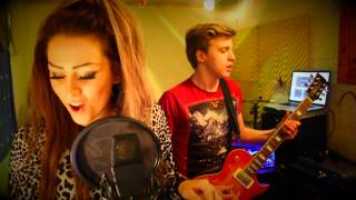 Bon Jovi - Livin' On a Prayer Cover - by 15 year old Poppy LittleJohn and James Bell
