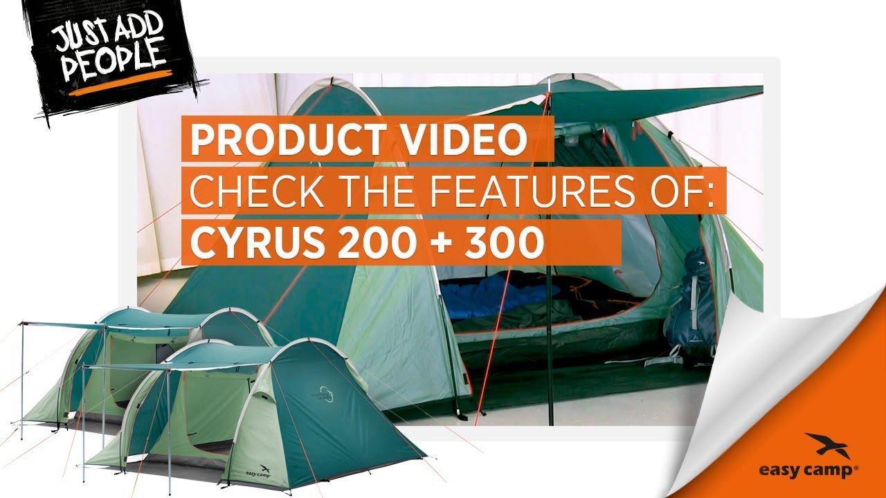 Easy Camp Cyrus 200 Tvåmmannatält | GetCamping.se