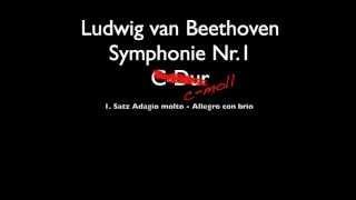 Beethoven Symphonie Nr.1 c-moll(!) 4. Satz Adagio - Allegro molto e vivace